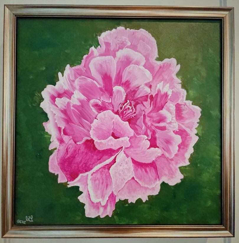 Painting - Flower 01